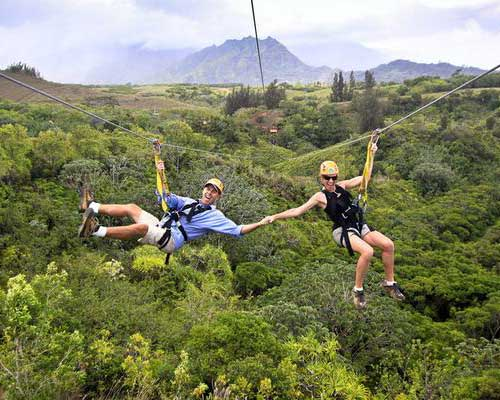 Kauai Travel Guide Zip Lines
