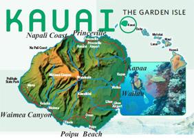 Hawaii island hopper day trips from Oahu to Kauai
