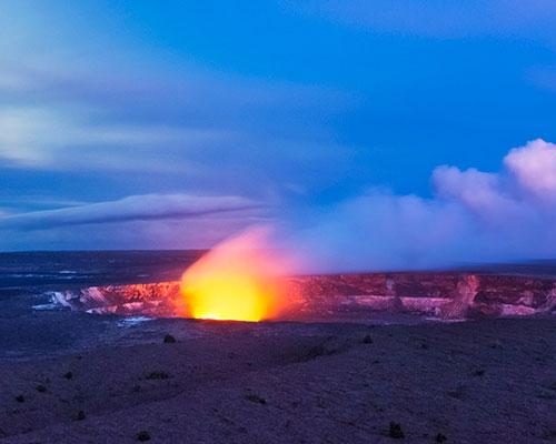 Volcano Park Hawaii