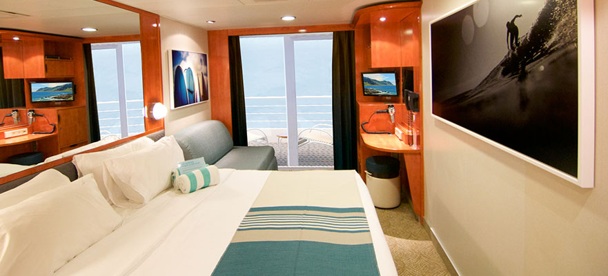 Easier than island hopping book a hawaiian islands cruise for Balcony cabin cruise deals