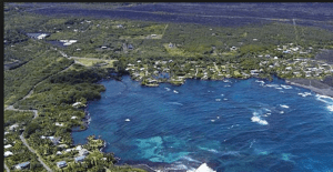 Farewell to Kapoho Bay Hawaii June 2018