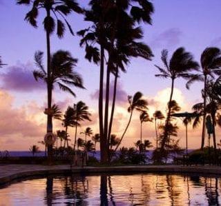 kauai-east-shore-wailua-bay-sunset
